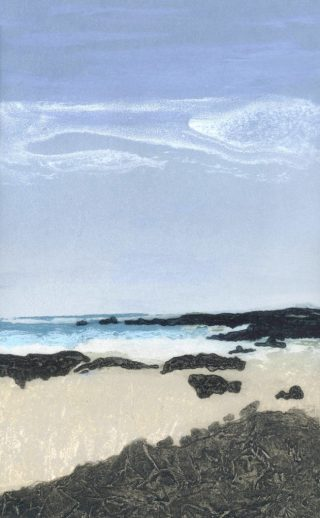 Elke Thönnes, Renvyle View, Carborundum, Image and Paper size 49 x 26cm, euro220 unframed price