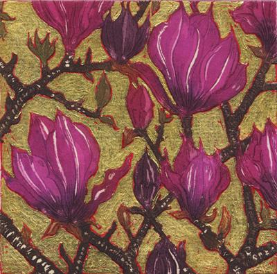 Graphic Studio Dublin: Jean Bardon: Dark Magnolia