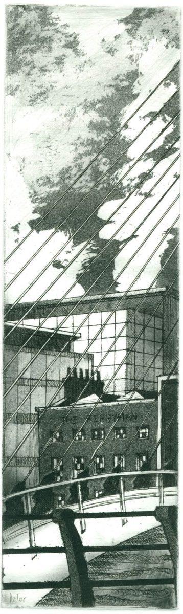 Graphic Studio Dublin: Brian Lalor, Samuel Beckett Bridge and the Ferryman