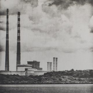 Matthew Gammon - Poolbeg Skyline - 2016 - Photo Intaglio - (10