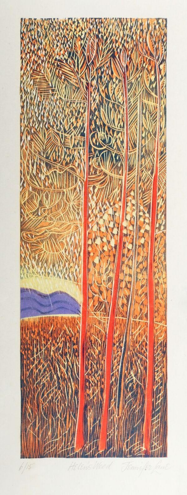 Graphic Studio Dublin: Helen's Wood