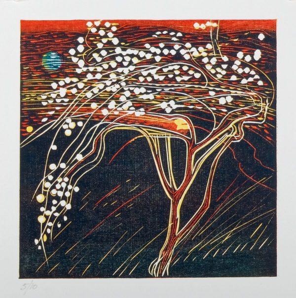 Graphic Studio Dublin: Jenny Lane, Apple Flower