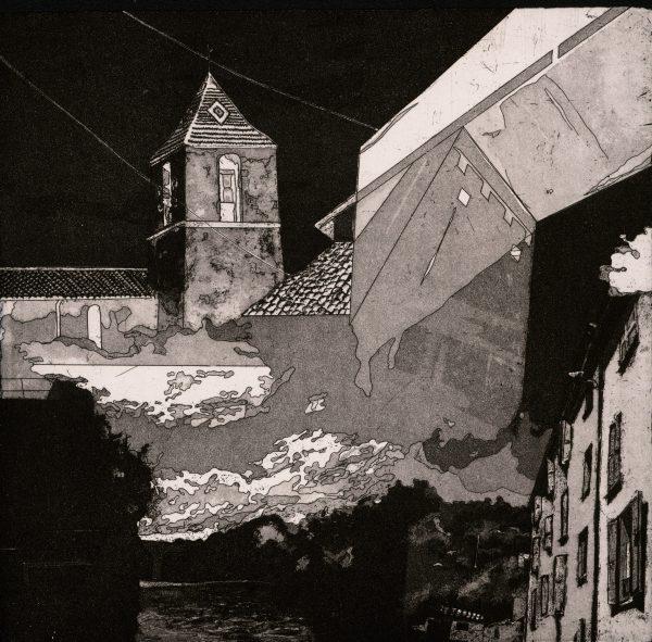 Graphic Studio Dublin: Les Gorges du Verdon, Ria Czerniak