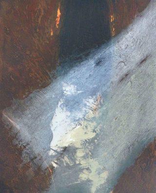 Waterbased 1, carborundum, paper & image 76 x 62cm, ed of 30, 2006, €650 unframed