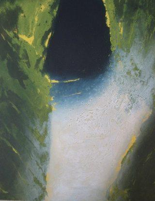 Waterbased 2, carborundum, 76 x 62 cm, ed of 30, 2006, €650 unframed