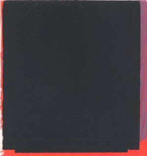 Graphic Studio Dublin • Michael Coleman: Graphic Studio Dublin: Untitled (Black over Red and Purple)
