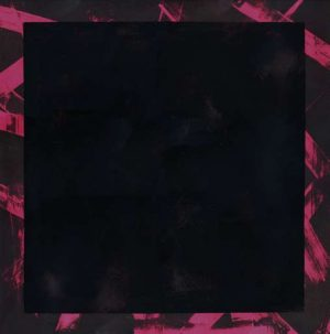 Graphic Studio Dublin • Michael Coleman: Graphic Studio Dublin: Untitled (Black Square on Pink)