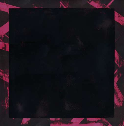 Graphic Studio Dublin: Michael Coleman, Untitled (Black Square on Pink)