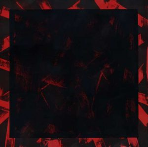 Graphic Studio Dublin • Michael Coleman: Graphic Studio Dublin: Title: Untitled (Black Square on Red)