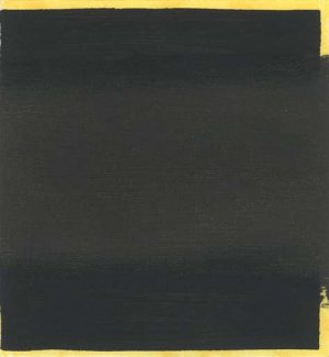 Graphic Studio Dublin • Michael Coleman: Graphic Studio Dublin: Untitled (Black Square over Yellow)