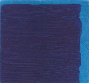 Graphic Studio Dublin • Michael Coleman: Graphic Studio Dublin: Untitled (Dark Blue over Light Blue)
