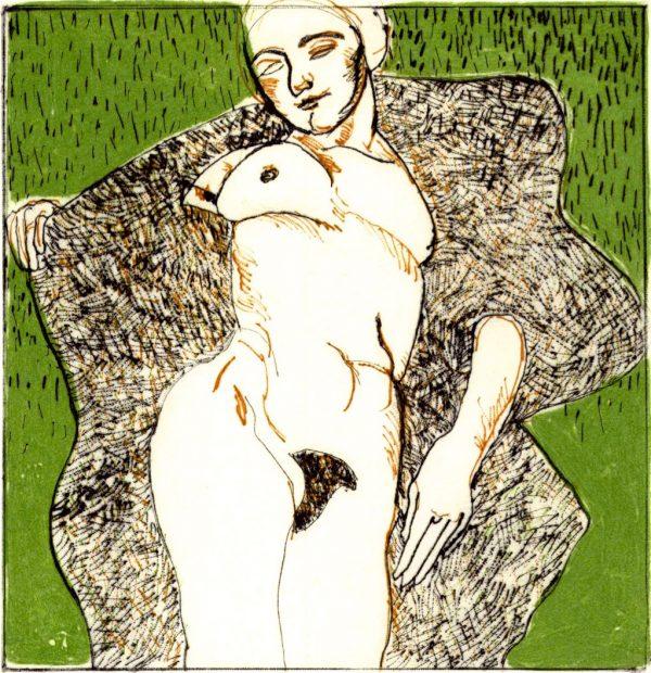 Graphic Studio Dublin: Domestic Intimacy, Green Background