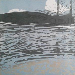 Graphic Studio Dublin •Marta Wakula-Mac: Graphic Studio Dublin: Landscape I