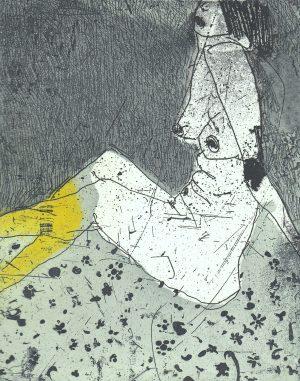 Graphic Studio Dublin •Marta Wakula-Mac: Graphic Studio Dublin: Nude III