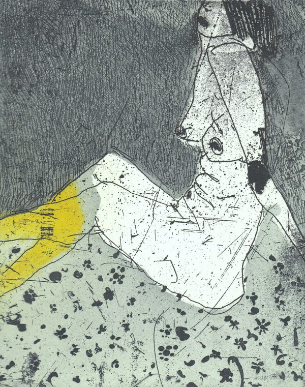 Graphic Studio Dublin: Marta Wakula-Mac, Nude III