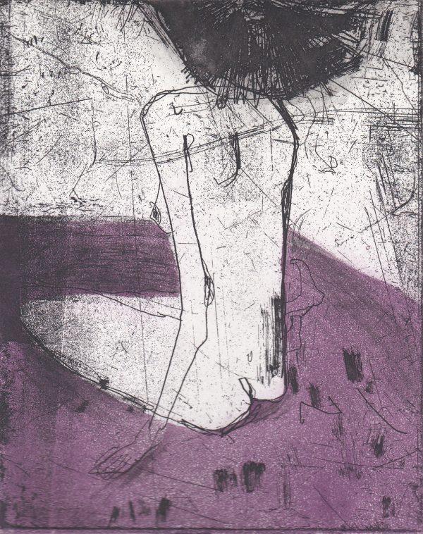 Graphic Studio Dublin: Marta Wakula-Mac, Nude IV