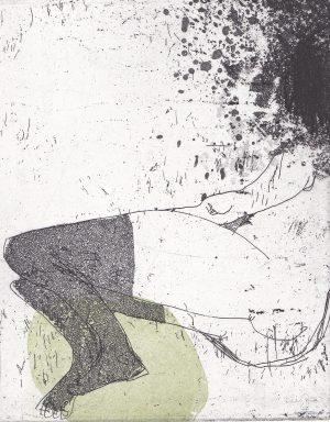 Graphic Studio Dublin •Marta Wakula-Mac: Graphic Studio Dublin:  Nude VII