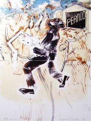 Graphic Studio Dublin •Micheal Farrell: Graphic Studio Dublin: Michael Farrell, Entre Ici et Arles