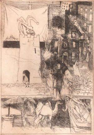 Graphic Studio Dublin •Charles Cullen: Graphic Studio Dublin: The Clown in the Tower