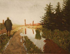 Graphic Studio Dublin •Martin Gale: Walking in Clouds, Martin Gale