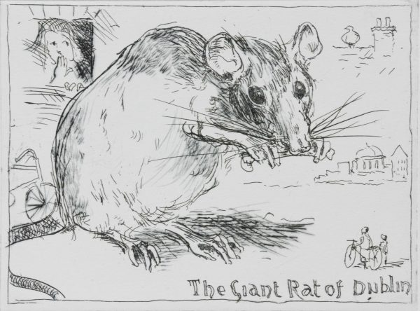 Graphic Studio Dublin: Charles Cullen, The Giant Rat of Dublin