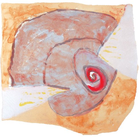 Graphic Studio Dublin: Untitled (Spiral Shell)