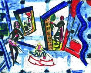 Graphic Studio Dublin •Michael Cullen: Graphic Studio Dublin: Infanta after Valesquez