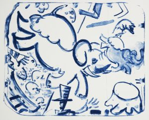 Graphic Studio Dublin • Michael Cullen: Graphic Studio Dublin: Elephant Throw, Michael Cullen