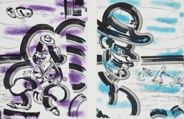 Graphic Studio Dublin: Michael Cullen, Nausicaa