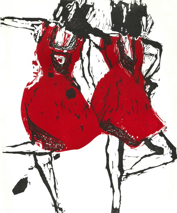 Graphic Studio Dublin: Marta Wakula-Mac, Dancers 6