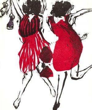 Graphic Studio Dublin •Marta Wakula-Mac: Graphic Studio Dublin: Dancers 7