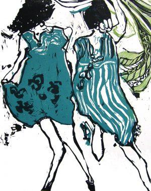 Graphic Studio Dublin •Marta Wakula-Mac: Graphic Studio Dublin: Dancers II
