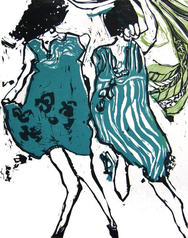 Graphic Studio Dublin: Marta Wakula-Mac, Dancers II