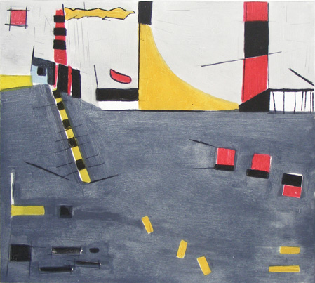 Graphic Studio Dublin: Michael Fitzharris, Dublin Port
