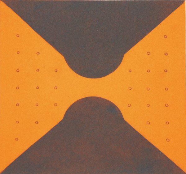 Graphic Studio Dublin: Richard Gorman, Orange Nudge