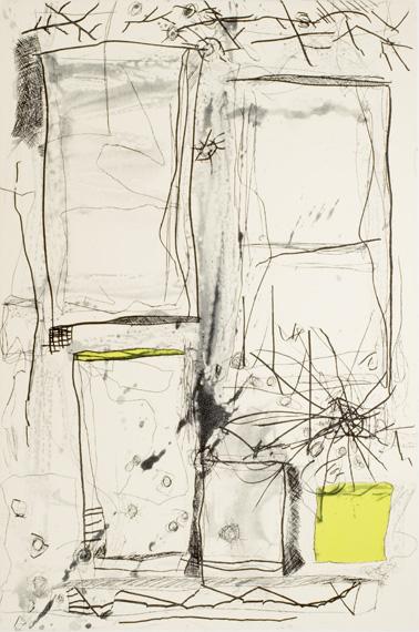 Graphic Studio Dublin: Brian Gormley, Malting Tower III