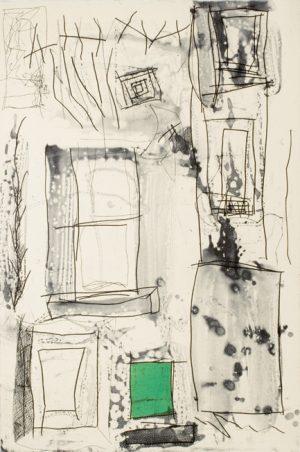 Graphic Studio Dublin •Brian Gormley: Graphic Studio Dublin: Malting Tower IV