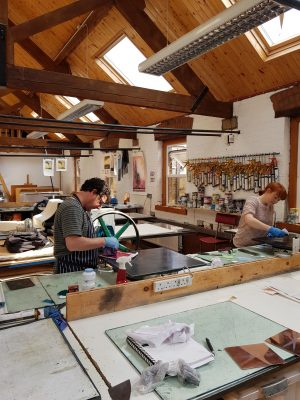 Graphic Studio Dublin: Six Week Etching Evening Course: 11 Sept – 20 Oct
