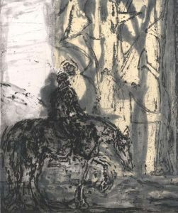 Christopher Le Brun, Untitled (Horse)