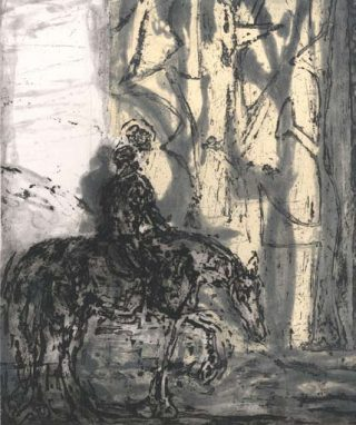 Christopher Le Brun, Untitled (Horse)