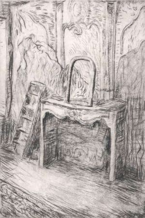 Graphic Studio Dublin •Eithne Jordan: Graphic Studio Dublin: Fireplace