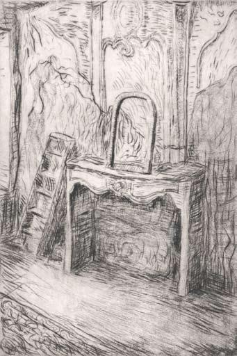 Graphic Studio Dublin: Eithne Jordan, Fireplace