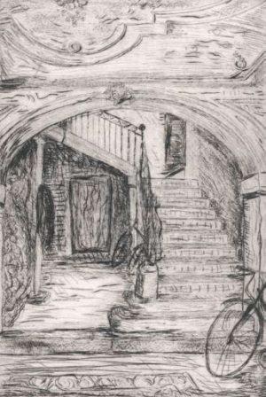 Graphic Studio Dublin •Eithne Jordan: Graphic Studio Dublin: Staircase