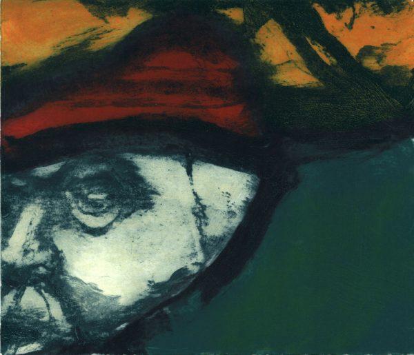 Graphic Studio Dublin: Hughie O'Donoghue, The Red Bonnet