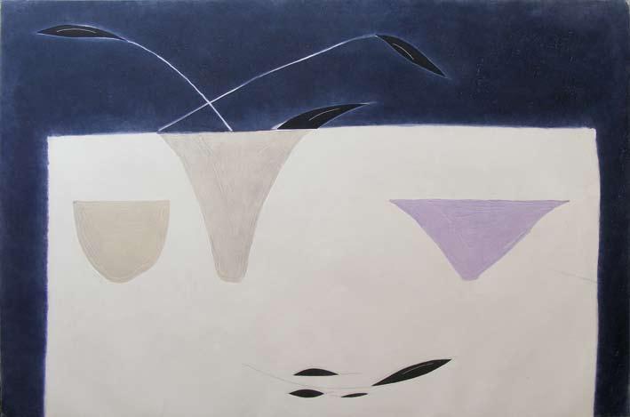 Graphic Studio Dublin: Jane O'Malley, Black Petals