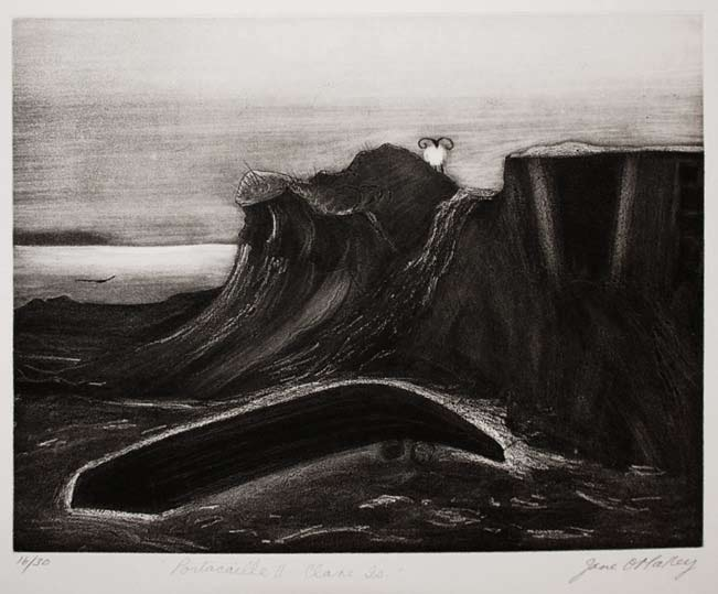 Graphic Studio Dublin: Jane O'Malley, Portacaille II