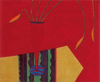 Jane OMalley, Red Vase
