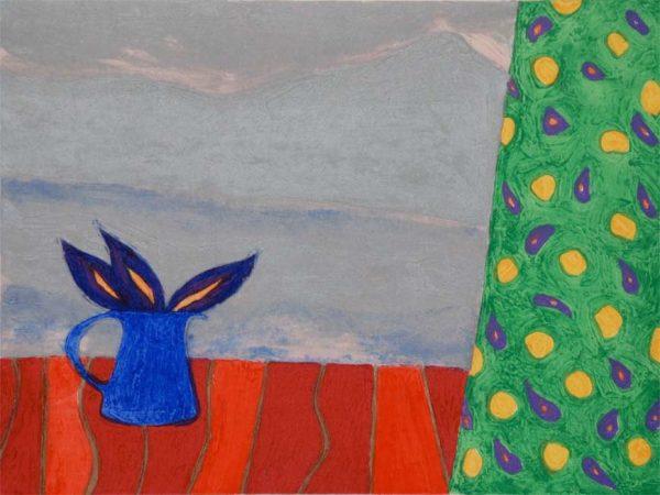 Graphic Studio Dublin: Jane O'Malley, Towards Timanfaya
