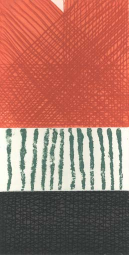 Graphic Studio Dublin • John Noel Smith: Graphic Studio Dublin: Untitled (Red, Green, Black)