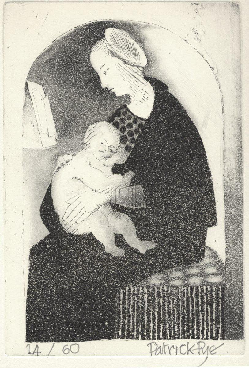 Graphic Studio Dublin: Patrick Pye, Madonna and Child